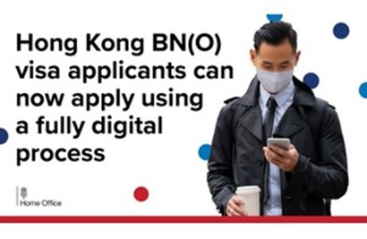 Hong Kong BN(O) visa updated to fully digital process